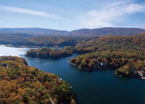 Attractions near the pioneer trading post an appalachian for Douglas lake fishing